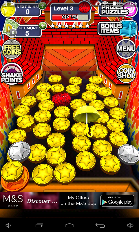 coin dozer game for android